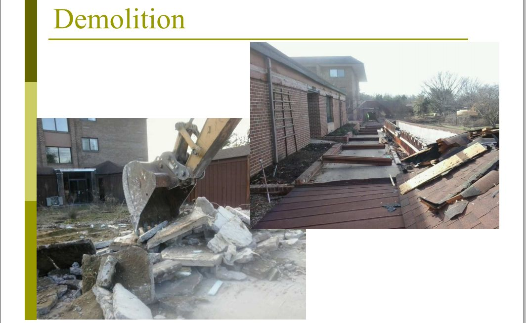 WalkwayDemolition